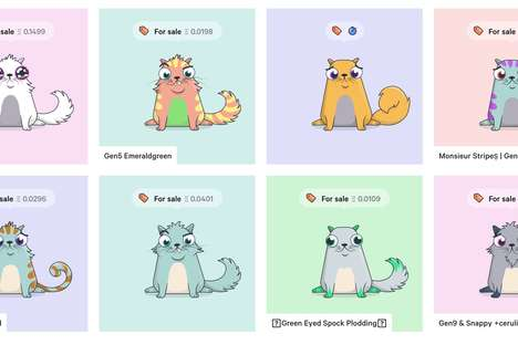 Cat-Centric Blockchain Games - CryptoKitties Has Users Trade Virtual Cats for Real Digital Currency