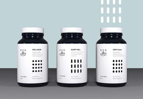 Apotheke's Supplement Design Imagines Solutions for Sleep & More
