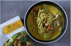 Curried Jackfruit Entrees - Trader Joe's Yellow Jackfruit Curry is a Plant-Based Frozen Meal