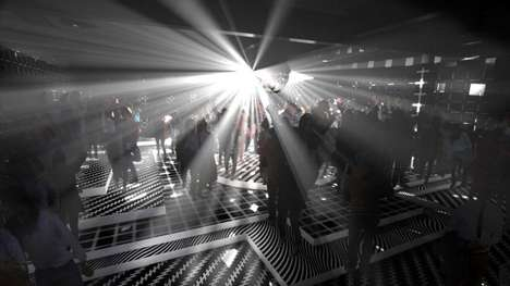 Dual-Spaced Nightclub Installations
