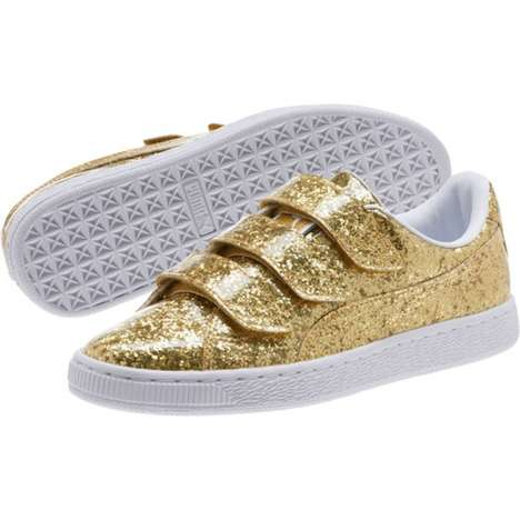 Glitter-Covered Sneaker Updates