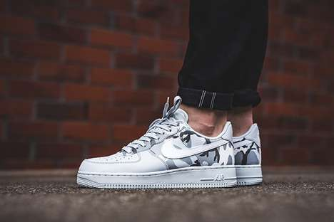 Camouflage Sneaker Expansions - The Nike Air Force 1 'Camo' Pack is Now Available in the US & Europe
