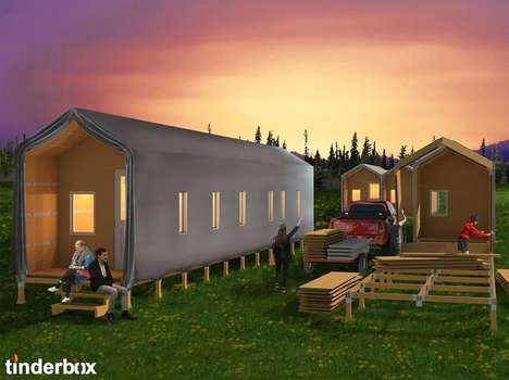 Low-Cost Wildfire Shelter Kits