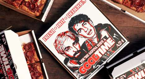 Movie-Promoting Pizza Boxes