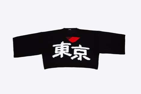 Tokyo-Celebrating Merino Wool Sweaters