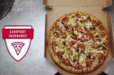 Takeout Pizza Insurance Policies - Dominos' Carryout Insurance Protects Your Pizza from Accidents