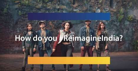 Crowdsourced Social Media Campaigns - #ReimagineIndia is a Campaign from Visa India