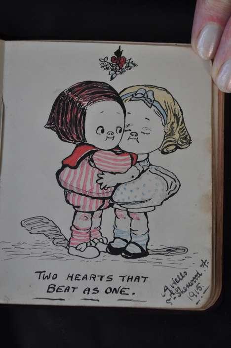 Crowdsourced Love Letter Transcriptions