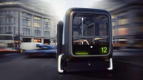 Futuristic Commuter Vehicles