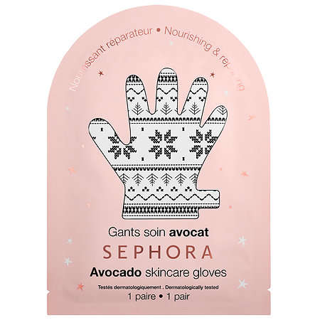 Avocado Hand Masks - Sephora's New Holiday Collection Offers a Holiday-Themed Hand Mask