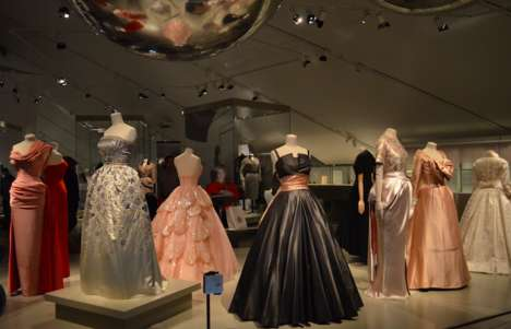 French Designer Fashion Exhibits