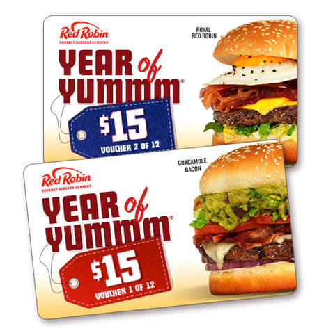 Year-Long Burger Passes