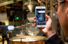 AR Coffee Roastery Tours - Starbucks' Augmented Reality Tours are Taking Place in Shanghai
