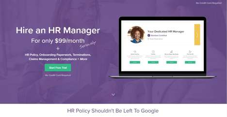 Outsourced HR Platforms - 'Bambee' Lets Companies Inexpensively Hire a Dedicated HR Manager