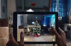 AR Tree-Positioning Apps - The IKEA Place App Helps Consumers Perfectly Place Their Christmas Tree