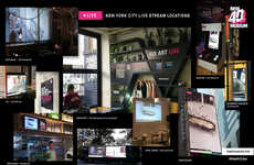 Live Streaming Museum Exhibitions - New Museum LIVE Broadcasts Its Exhibitions Throughout NYC