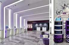 Tech-Infused Hotel Check-Ins - The Yotel Singapore's Lobby Contains Check-In Kiosks and Robots
