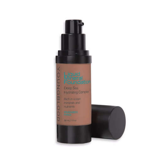Hydrating Mineral Foundations
