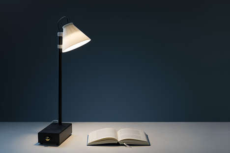 Smartphone-Storing Productivity Lamps - The Offline Lamp Only Works If You Surrender Your Phone