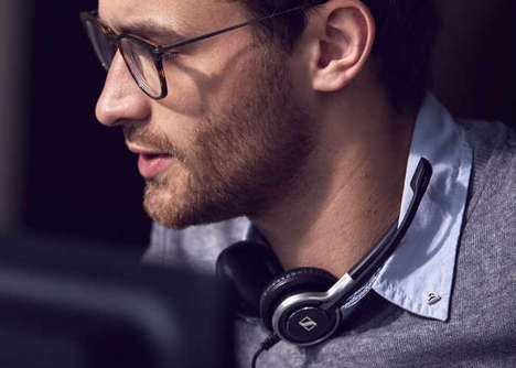 Digital Productivity Headsets - The Sennheiser Century Mobile Headset Systems Ensure Optimal Audio