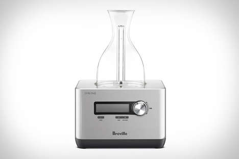 Wine-Enhancing Decanter Appliances