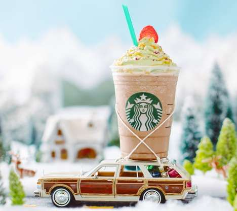 Limited-Edition Holiday Tree Drinks