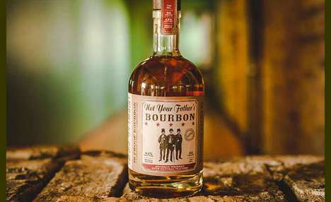 Small Batch Bourbon Spirits - The Small Town Craft Spirits 'Not Your Father's Bourbon' is Smooth