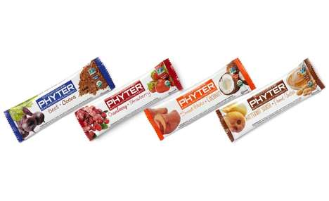 Handcrafted Pureed Produce Bars - The Phyter Whole-Food Nutrition Bars are Satisfying and Tasty