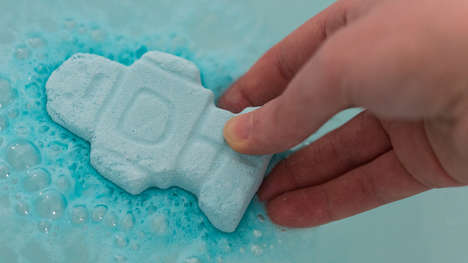 Soothing Baby Bath Bombs
