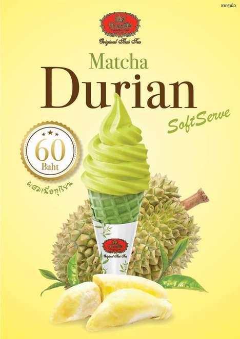 Tea-Flavored Soft-Serve