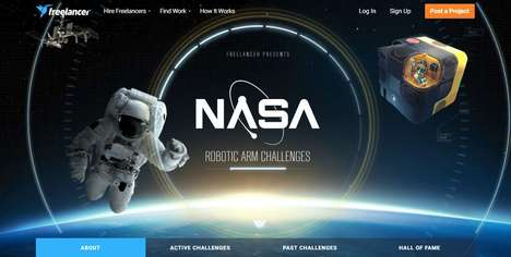 Robotic Arm Challenges - NASA's 'Robotic Arm Challenges' Crowdsource Freelance Designers for Science