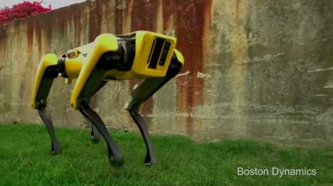 Dog-Like Quadriped Robots