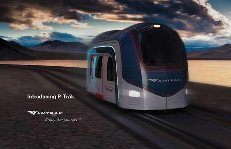 Rapid Interstate Transit Pods