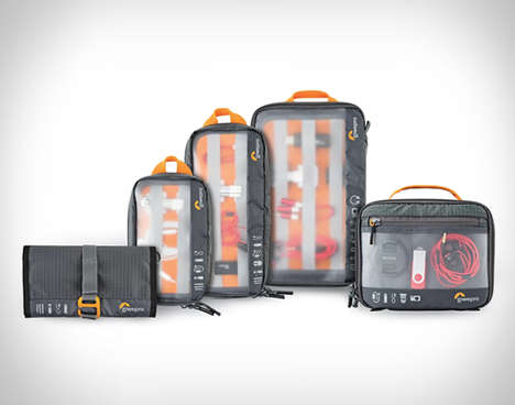 Gear-Separating Travel Cases