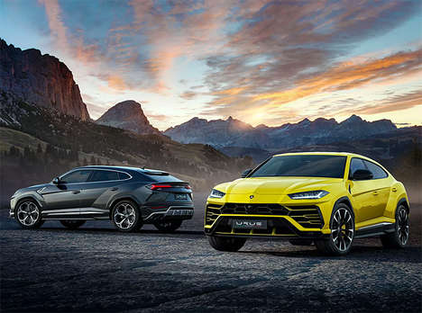 Speedy Record-Breaking SUVs - The 2019 Lamborghini Urus is Opulent, Fast and Off-Road Ready