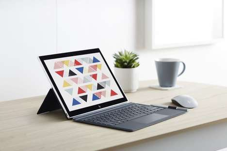 LTE-Enabled Mobile Laptops - The HP ENVY x2 Laptop Offers Up to 20 Hours of Battery Life