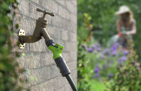 Tech-Free H20 Conservation Devices - The 'FloSTEM' Water Saving Device Tracks Your Usage