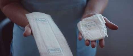 Miniature Flat Diapers