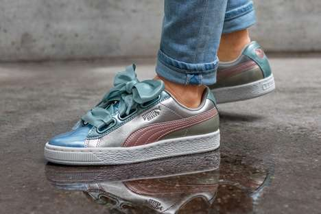Metallic Holiday-Themed Sneakers