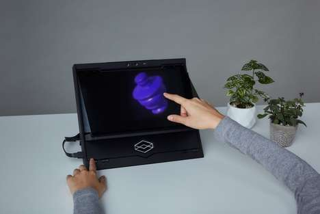 Interactive Hologram Devices