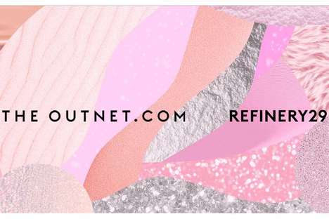 Interactive Snow Globe Displays - The Outnet.com and Refinery29 Created a Snow Globe-Themed Pop-Up