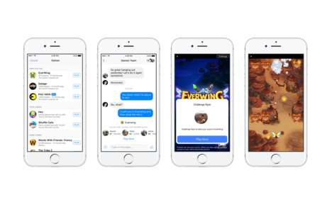 Livestreamed In-Chat Games - Facebook's Instant Games on Messenger Can Now Be Shared Live
