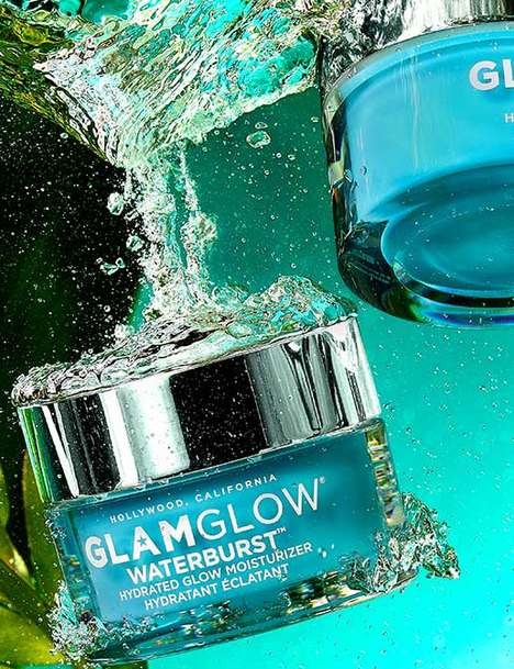 Deeply Hydrating Moisturizers - 'Waterburst' by GlamGlow Promises 72 Hours of Continuous Hydration