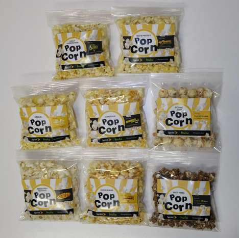 TV-Inspired Popcorn Flavors - Hulu and Sprint Created Fun Snack Flavors Inspired by TV Series