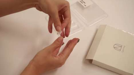 3D-Printed Manicure Sets - Toshiba's 'Open Nail' Project Uses Data to Generate Custom False Nails