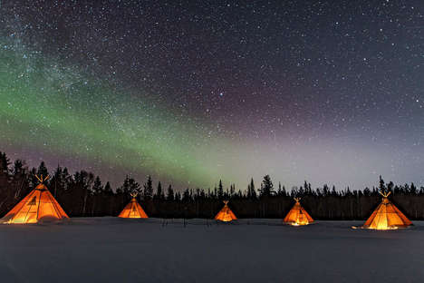 Indigenous Culture Camping Trips - The Sápmi Nature Camp Lets Visitors Experience Northern Sweden