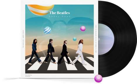 Reimagined Record Covers - Depositphotos Had Top Young Visual Artists Recreate Album Concepts