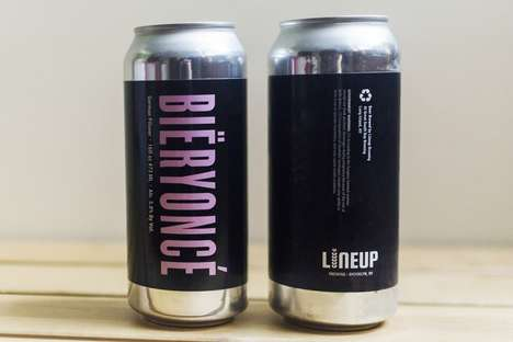 Celebrity Songstress-Inspired Beers - Bïeryoncé is Offered Through Brooklyn's Female-Owned Brewery