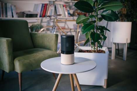 Naturalistic Frequency Speakers - The 'GreenNote' Speaker Turns Plant Energy into Music