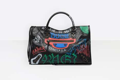 Grunge-Inspired Luxury Luggage